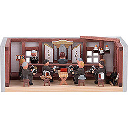 Miniature Room - Miners' Prayer Room - 4 cm / 1.6 inch