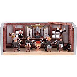Miniaturstübchen Bergbauliche Betstube - 4 cm