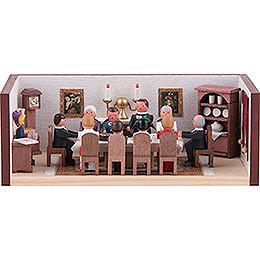 Miniaturstübchen Geburtstagsstube - 4 cm