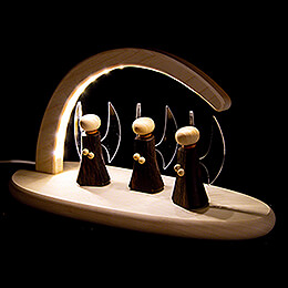 Modern Light Arch - Angels  - 24x13 cm / 9.4x5.1 inch