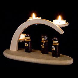 Modern Light Arch - Carolers - 24x13 cm / 9.4x5.1 inch