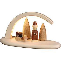 Modern Light Arch - Christmas - 24x13 cm / 9.4x5.1 inch