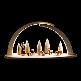 Modern Light Arch - Christmas - 42x21 cm / 16.5x8.3 inch