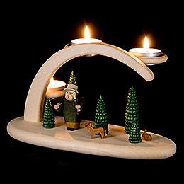 Modern Light Arch - Forest Scene - 25x13x10 cm / 9.8x5.1x3.9 inch