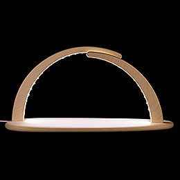 Modern Light Arch - LED Illuminated - without Figurines - 42x21x13 cm / 16x8x5 inch