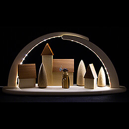 Modern Light Arch - Nightwatchman - 42x21 cm / 16.5x8.3 inch