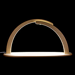 Modern Light Arch - without Figurines - 70x37 cm / 27.6x14.6 inch