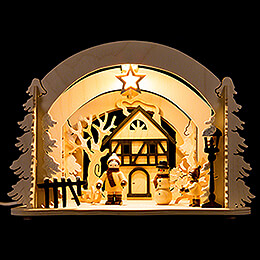 Motive Light - Diorama Winter Delights - 19 cm / 7.5 inch