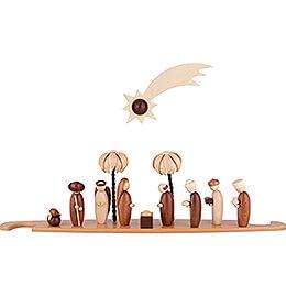 Motivplattform Heilige Familie natur für Moderne Lichterspitze - 49x12 cm