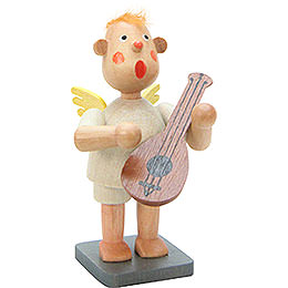 Music Bengelchen with Lute - 6,5 cm / 3 inch