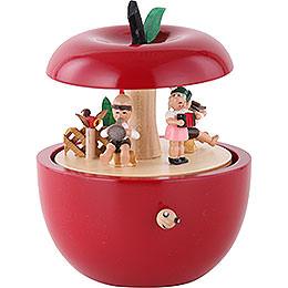 Music Box Apple Child Concert - 14 cm / 6 inch