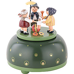 Music Box Childrens Play - 12 cm / 5 inch