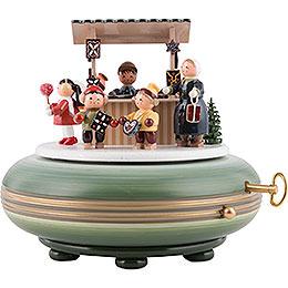 Music Box Christmas Fair - 16 cm / 6 inch