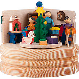 Music Box Christmas Snuggery - 8,5 cm / 3.3 inch