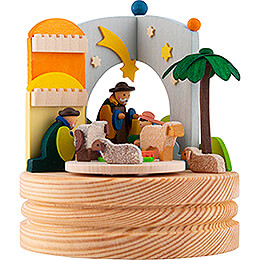 Music Box Nativity - 11,6 cm / 4.6 inch
