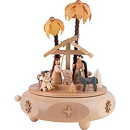 Music Box - Nativity - 17 cm / 6.7 inch
