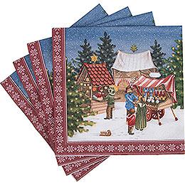 Napkins Christmas Market - 20 pcs.