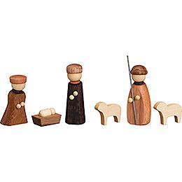 Nativity, 6 pcs. - 7 cm / 2.8 inch