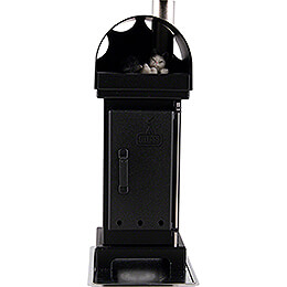 Nordic Fire Place Incense Smoker Black - 18 cm / 7 inch