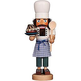 Nussknacker Bäcker lasiert - 42 cm