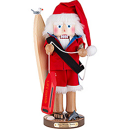 Nussknacker Baywatch Weihnachtsmann - 46 cm