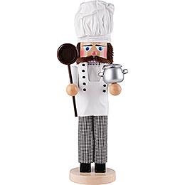 Nussknacker Chefkoch mit Topf - 46 cm
