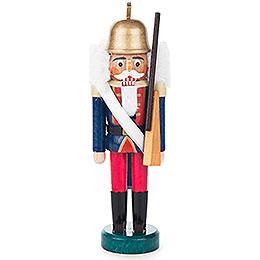 Nussknacker Gardesoldat blau-rot - 14 cm