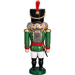 Nussknacker Husar grün - 28 cm
