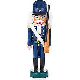 Nussknacker Infanterist blau - 13 cm