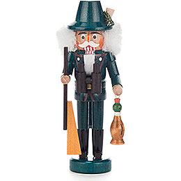 Nussknacker Jäger grün - 14 cm