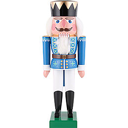 Nussknacker König blau - 36 cm