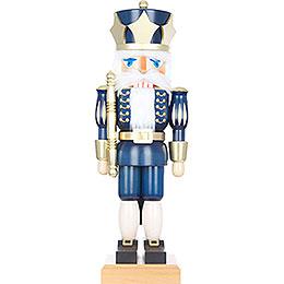 Nussknacker König blau - 73,0 cm