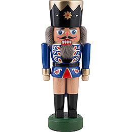 Nussknacker König dunkelblau - 21 cm