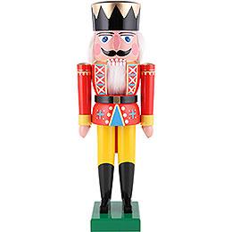 Nussknacker König rot - 36 cm
