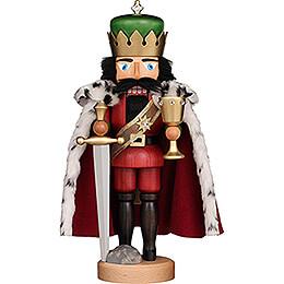 Nussknacker König Arthur lasiert - 40 cm