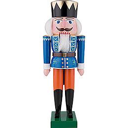 Nussknacker König, blau - 36 cm