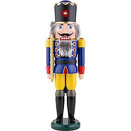 Nussknacker König blau - 50 cm