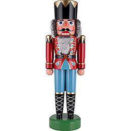Nussknacker König dunkelrot - 75 cm