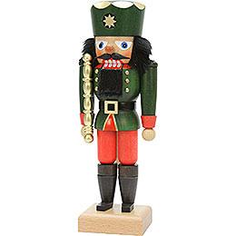 Nussknacker König grün - 26 cm