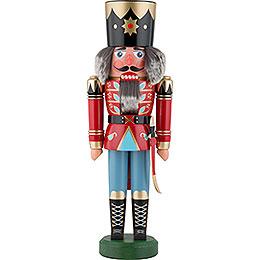 Nussknacker König rot - 40 cm