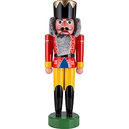 Nussknacker König rot - 75 cm