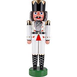 Nussknacker König weiß - 75 cm