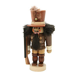Nussknacker Mini Soldat natur - 10,5 cm