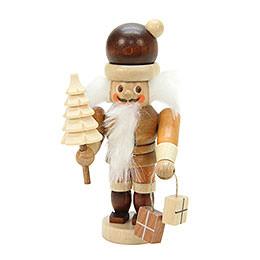 Nussknacker Mini Weihnachtsmann natur - 10,0 cm
