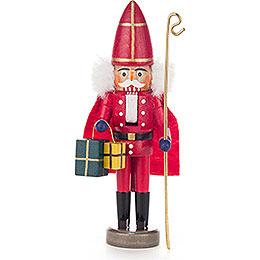 Nussknacker Nikolaus rot - 15 cm
