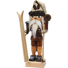 Nussknacker Skifahrer natur - 25,5 cm