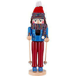 Nussknacker Skifahrer stehend - 43 cm