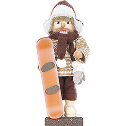 Nussknacker Snowboarder, limitiert - 45,5 cm
