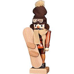 Nussknacker Snowboarder natur - 30 cm