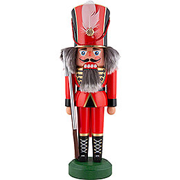 Nussknacker Soldat rot - 26 cm